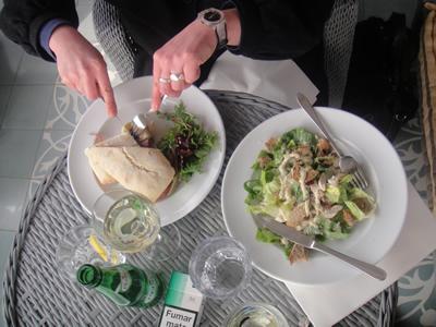Hotel Bairro Alto Lisbon roof terrace light lunch 3