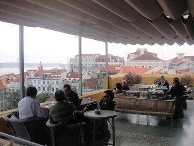Hotel Bairro Alto roof terrace1