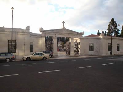 Cemiterio Prazeres entrance