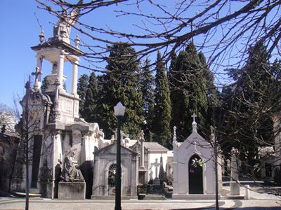 Cemetery of Pleasures Cemitério dos Prazeres 3 Lisbon