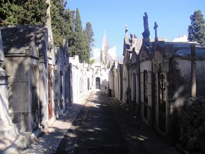 Cemetery of Pleasures Cemitério dos Prazeres 2 Lisbon