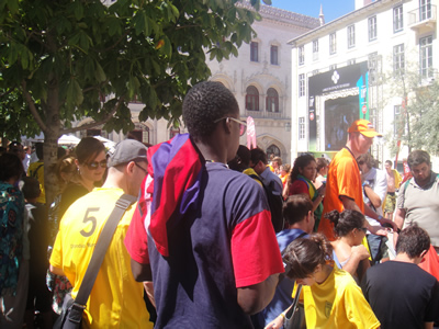 Lisbon World Cup 2010 Holland vs Brazil Rossio2
