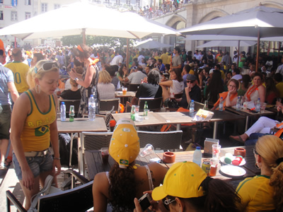 Lisbon World Cup 2010 Holland vs Brazil Rossio4