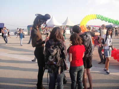 Gay Pride Lisbon June 2010 Praca do Comercio5