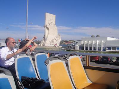 Lisbon sightseeing the yellow double decker 5