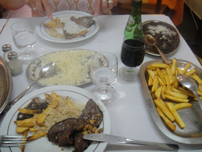Restaurant Zé da Mouraria Lisbon meat Picanha