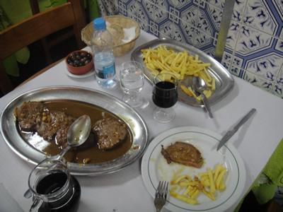 Restaurant Zé da Mouraria Lisbon deliscious meat1