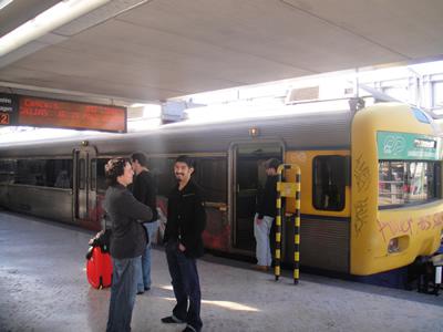 Cais do Sodre Lisbon train to Cascais