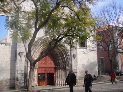 Lisbon Largo do Carmo church museum 1
