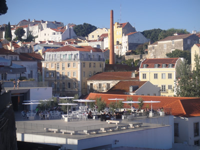 Portas do Sol terrace Alfama Lisbon 4 view
