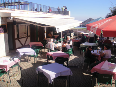 Lisbon Restaurant Miradouro Sta Luzia Alfama