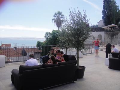 Portas do Sol terrace Lisbon Alfama Tagus view 4 lounge sofas