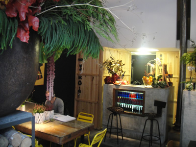 Flower Power food and flowers cafe restaurant Bairro Alto Lisbon 3