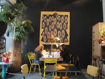 Flower Power food and flowers Bairro Alto cafe restaurant Lisbon2