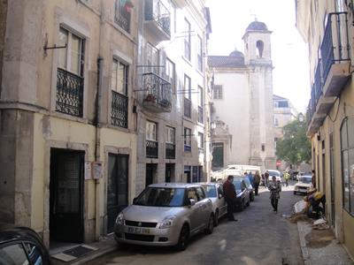 Restaurant São Cristóvão Alfama Lisbon street