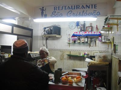Tiny Restaurant São Cristóvão Alfama Lisbon Owner Maria Levy