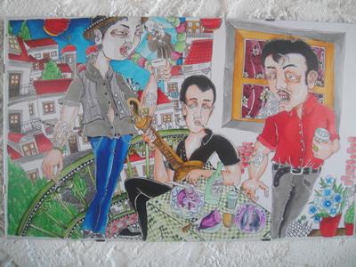 Carlos Fernandez artist Mouraria Lisbon 1