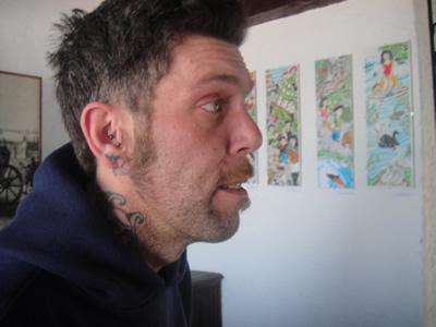 Carlos Fernandez artist Mouraria Lisbon 2