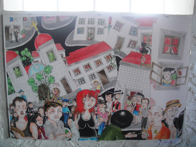 Carlos Fernandez artist Mouraria Lisbon 4