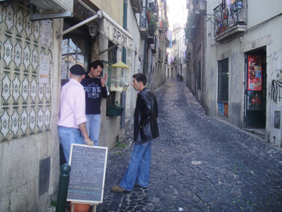 Rua do Salvador Alfama Lisbon2 restaurant Zip Zip