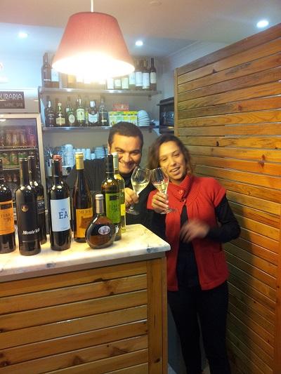 Winebar 'Ai Mouraria' Lsibon  Sandra e Bruno owners2