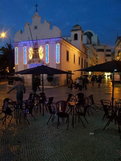 Mouraria Lisbon church Capela de Nossa Senhora da Saúde terrace AI MOURARIA
