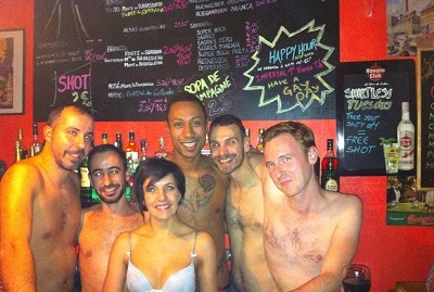 Le Marais Bar Lisbon Santa Catarina Shirtless Tuesday free shot 2