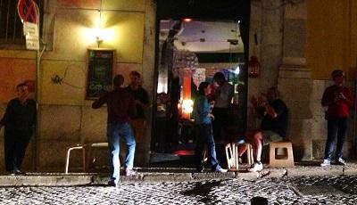 Le Marais bar Lisbon Santa Catarina street
