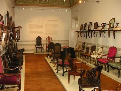 Museum of Decorative Arts Fress Lisbon- Portuguese Chairs Room