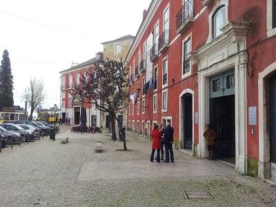Museum of Decorative Arts Fress Lisbon formeer palace entrance ateliers