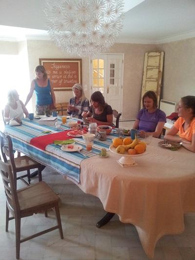 House of Wonders B&B Cascais dining rooim breakfast