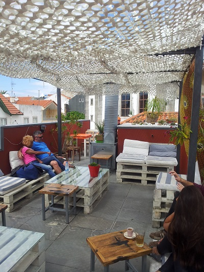 Restaurant House of Wonders Cascais cafe rooftop june 2014