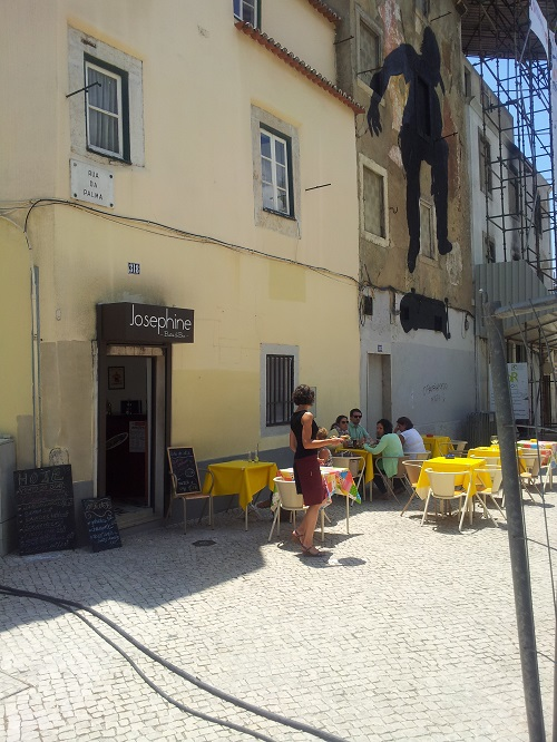 Lisbon Intendente Square new bar bistro Josephine 1 June 14