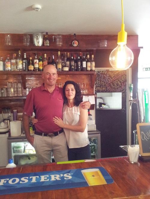 Lisbon Intendente Square new bar bistro Josephine owner Marie Odile Coudaert & Gary Nairn