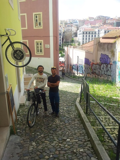 Bike a Wish Lisbon Mouraria  bike rent Arpil 15