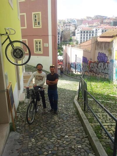 Bike a Wish Lisbon Mouraria bike rent Arpil 15