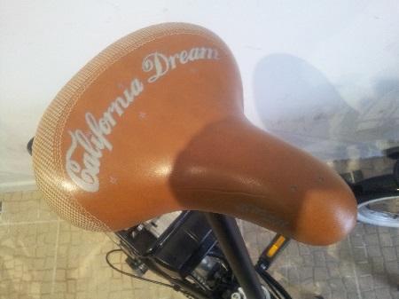 Lisbon BikeaWish e-bike bikes store Lisbon Mouraria  2015 seat California Dream