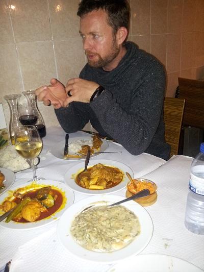 Cantinho do Aziz restaurant Mouraria Lisbon March Rob Plews
