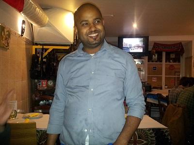 Cantinho do Aziz restaurant Mouraria Lisbon owner Aziz