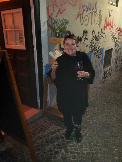 Wine tasting evening Venho Vinho Bairro Alto Lisbon participant