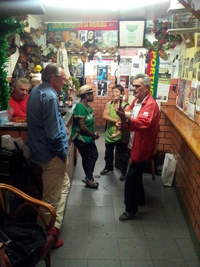 Lisbon cafe Amigos da Severa Mouraria Luc e Erika fado