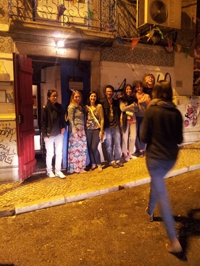 Mouraria Lisbon ANOS 60 July 2014 trendy bar 2