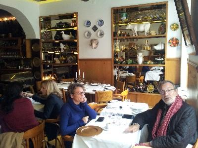 Restaurant Casa de Pasto Lisbon area Cais do Sodre Erika e Luc