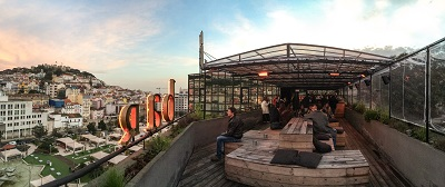 Mouraria Lisbon rooftop Bar Topo February 2015