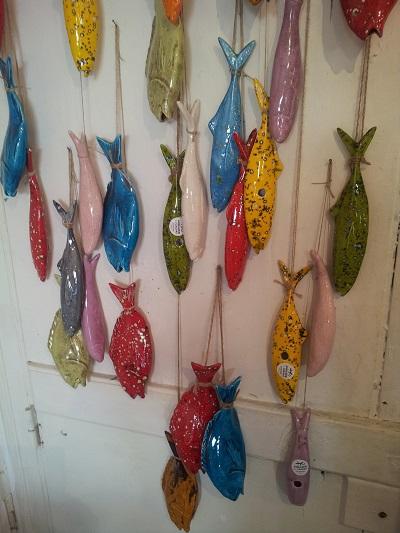 Lisbon Armazem Caldas Feira da Ladra ceramics sardines