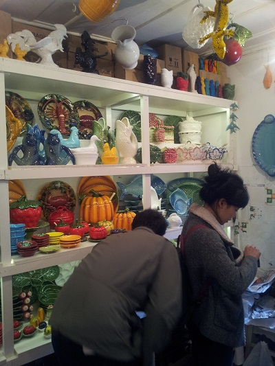 Lisbon Armazem Caldas Feira da Ladra lovely ceramic 3