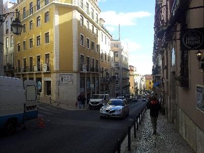 Bakery Fabrica Lisboa Rua da Madalena 121 street Lisbon
