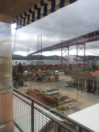 Gastrobar Rio Maravilha LX Lisbon view Tagus river 4th floor