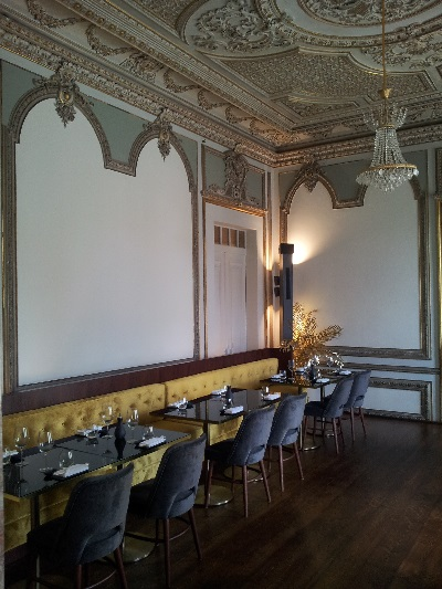 Lisbon beautiful Chiado Palace April 2016 DINING AREA