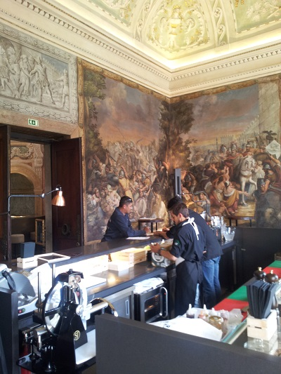 Lisbon beautiful Chiado Palace April 2016 sushi restaurant
